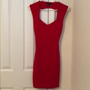 XS red dress in great condition